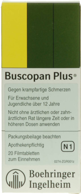 Buscopan plus (PZN 03999961)
