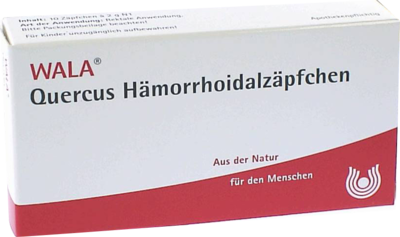 Quercus Haemorrhoidalzaepfchen (PZN 01880701)