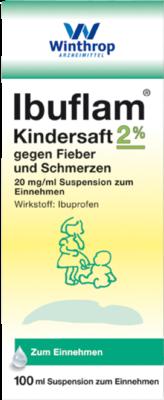 Ibuflam Kindersaft 2% gg.Fieber u.Schmerzen (PZN 09731722)