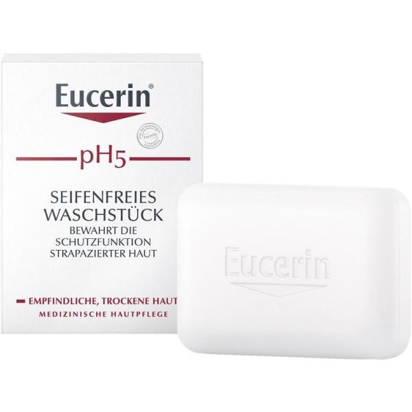 Eucerin pH5 Waschstück Seifenfr. Empfindliche Haut (PZN 13889251)