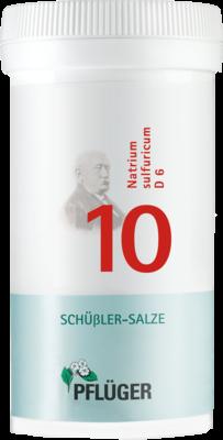 Biochemie Pflüger 10 Natrium sulfuricum D6 (PZN 06319688)