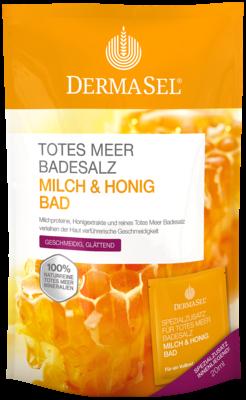 Dermasel Totes Meer Badesalz+milch&honig Spa (PZN 07388645)