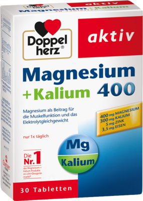 Doppelherz Magnesium + Kalium Tabl. (PZN 00896491)