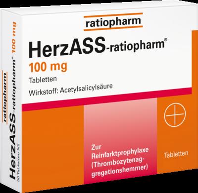 Herzass Ratiopharm 100mg (PZN 04561936)