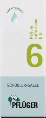 Biochemie Pflueger 6 Kalium Sulfur.D6 (PZN 06324502)