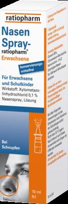 Nasenspray Ratiopharm Erwachsene Kons.frei (PZN 00999831)
