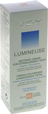 Vichy Lumineuse Satinee Claire getönte Creme für trockene Haut Nr.01 (PZN 08494036)