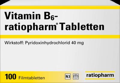Vitamin B6 ratiopharm 40 mg Film (PZN 01586077)