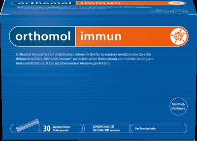 Orthomol Immun Direktgranulat Himbeer/menthol (PZN 08885937)