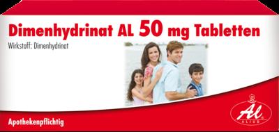 Dimenhydrinat Al 50mg (PZN 06938658)
