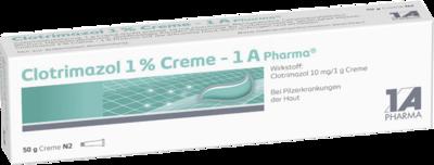 Clotrimazol 1% Creme 1a Pharma (PZN 02409006)
