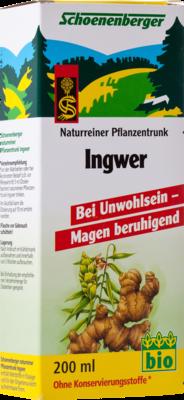Ingwer Pflanzentrunk Schoenenberger (PZN 02640525)