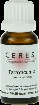 Ceres Taraxacum Urtinktur (PZN 00245291)