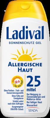 Ladival Allergische Haut Gel Lsf 25 (PZN 03373486)