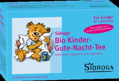 Sidroga Bio Kinder Gute Nacht Tee Filterbtl. (PZN 00953958)