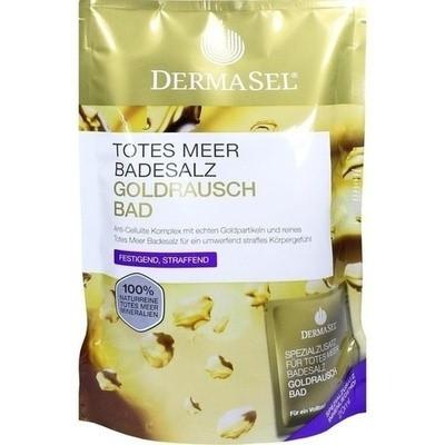 Dermasel Totes Meer Badesalz+gold Exklusiv (PZN 07390197)