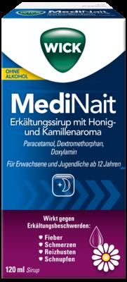 WICK MediNait Erkältungssirup mit Honig- und Kamillenaroma (PZN 06156393)
