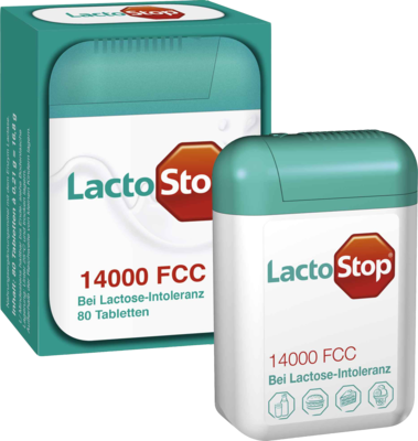 Lactostop 14.000 FCC Tabletten Spender (PZN 09718265)