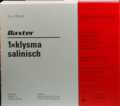 Klysma 1 X Salinisch (PZN 01321054)