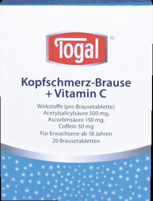 Togal Kopfschmerz-brause + Vit. C Brause (PZN 03822501)