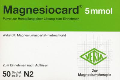 Magnesiocard 5 Mmol (PZN 01667864)