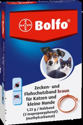 Bolfo Flohschutzband F.kleine Hunde U.katzen (PZN 02756305)