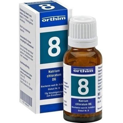 Biochemie Globuli 8 Natrium Chloratum D6 (PZN 08884530)