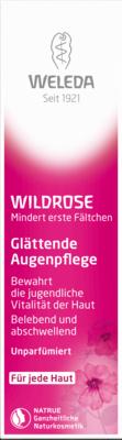 Weleda Wildrose Glaettende Augenpflege (PZN 02064553)