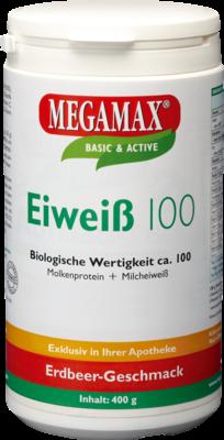 Eiweiss 100 Erdbeer Megamax (PZN 07378227)