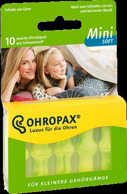 Ohropax mini soft Schaumstoff Stöpsel (PZN 10795383)