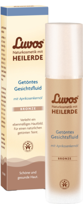 Luvos Naturkosmetik Getoentes Gesichtsfluid Bronze (PZN 09488457)