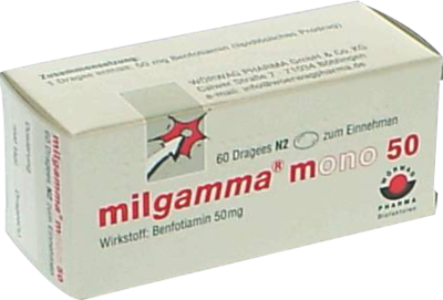 Milgamma Mono 50 Tabl.ueberzogen (PZN 01221909)
