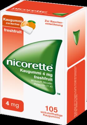 Nicorette 4 Mg Freshfruit (PZN 01642887)
