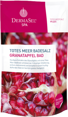 Dermasel Totes Meer Badesalz+Granatapfel SPA (PZN 09480734)