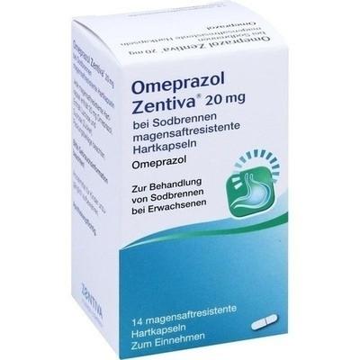 Omeprazol Zentiva 20 mg bei Sodbrennen (PZN 10541926)
