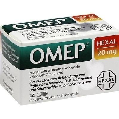 Omep Hexal 20 mg magensaftresistente Hart (PZN 10070208)