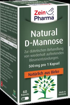 Natural D-mannose 500mg (PZN 09612319)