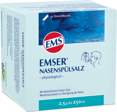 EMSER Nasenspülsalz physiologisch Beutel (PZN 02579665)