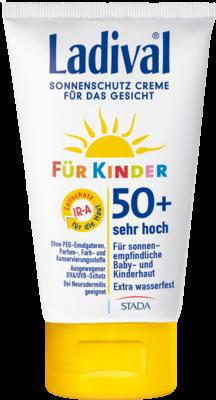 Ladival Kinder Sonnenschutz Creme Gesicht Lsf 50+ (PZN 09240763)