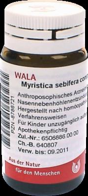 Myristica Sebifera COMP. (PZN 08786721)