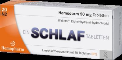 Hemodorm 50 Mg Einschlaf (PZN 03078669)
