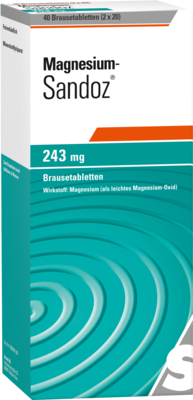 Magnesium Sandoz 243mg (PZN 11013448)