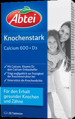 Abtei Knochenstark Calcium 600+d3 (PZN 04262369)