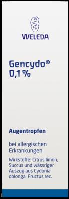 Gencydo 0,1% Augentr. (PZN 01572773)