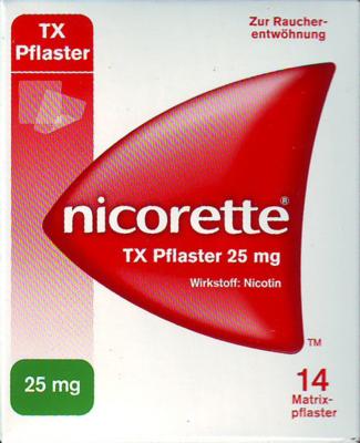 Nicorette Tx Pflaster 25mg (PZN 03273690)