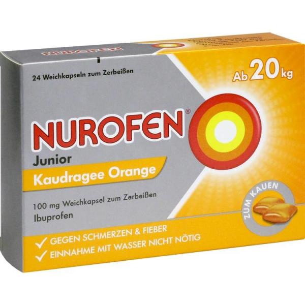 Nurofen Junior Kau Orange 100mg (PZN 13475265)