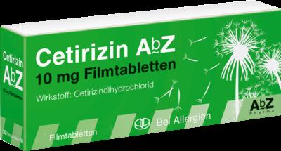 Cetirizin AbZ 10mg (PZN 06716142)
