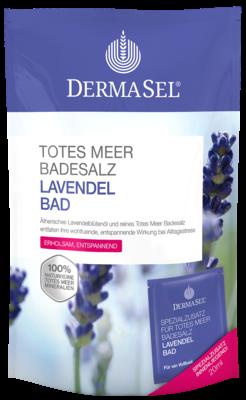 Dermasel Totes Meer Badesalz+lavendel Spa (PZN 07389811)
