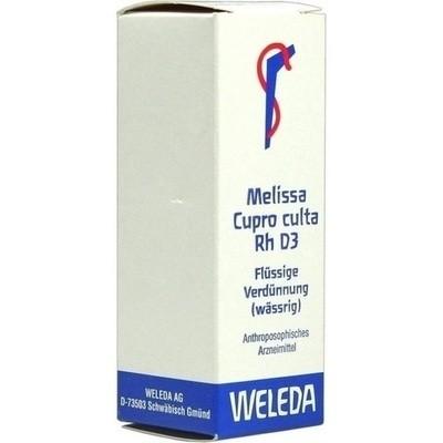 Melissa Cupro Culta Rh D 3 Dil. (PZN 01630105)