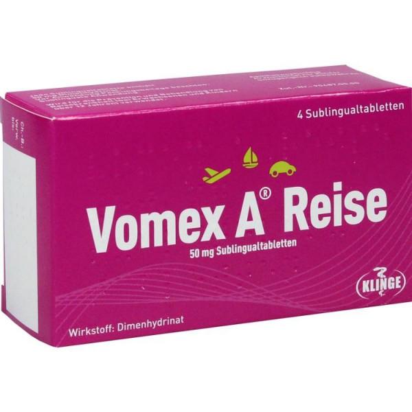 Vomex A Reise 50mg (PZN 12557920)